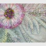 Flowers in Hand Stitch