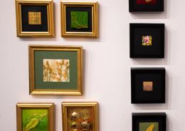 Hand Goldwork samples by Gloria Shelton and Christina Fairley Erickson