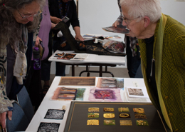 Mentor & artist Penny Peters discusses her hand Goldwork