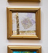 Goldwork on display by Christina Fairley Erickson
