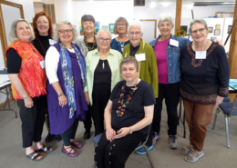 Some of our Volunteers and Guest Artists-in-Residence