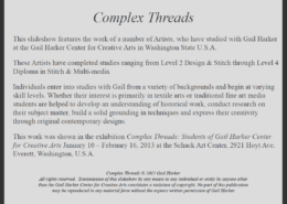 Complex Threads Gallery Introduction