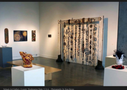 Complex Threads exhibit Schack Art Gallery, Everett WA